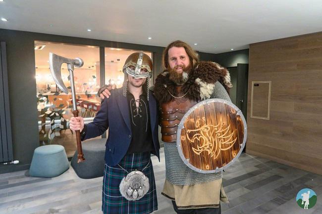 vikings with scottish traits