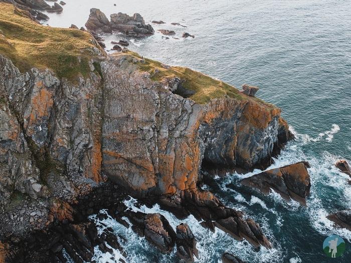 fast castle scottish borders coast