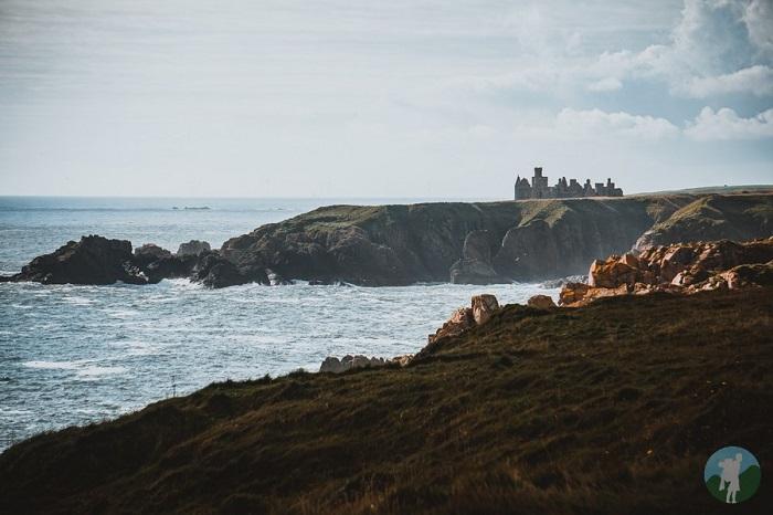 new slains castles aberdeenshire distance