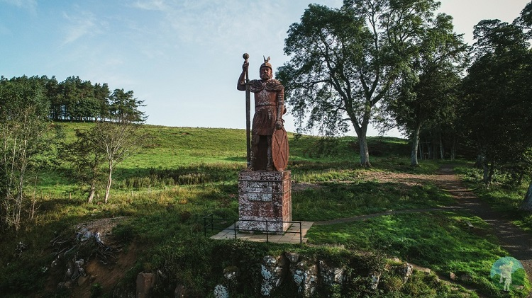 Wallace Statue Scottish Borders