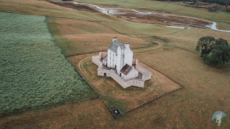 corgarff castle drone
